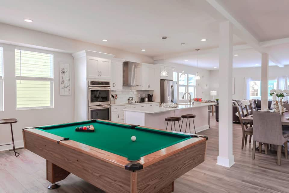 Designer Chic Indy with Pool Table Indianapolis
