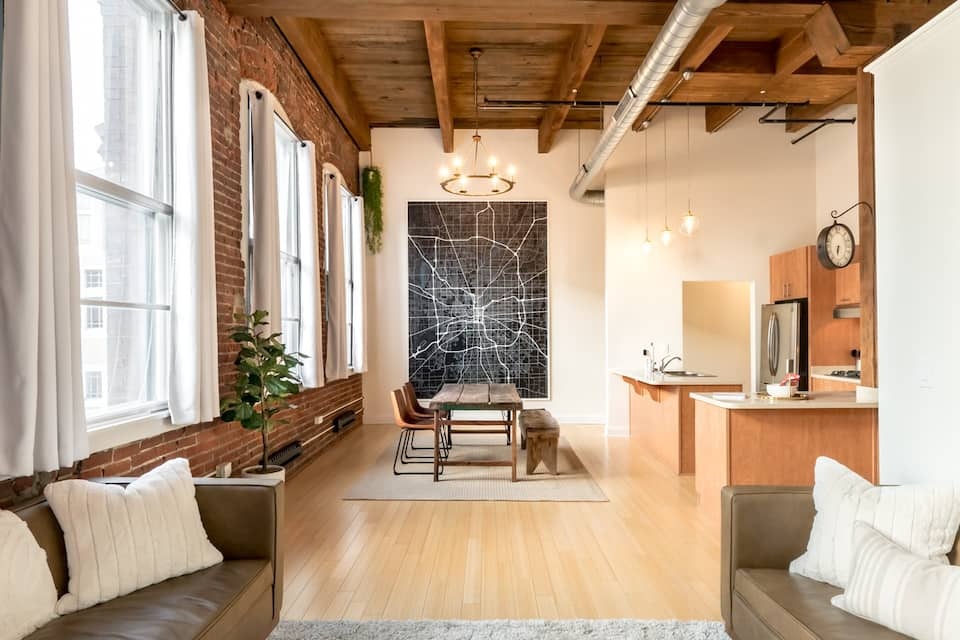 Downtown Indy Luxe Loft Indianapolis