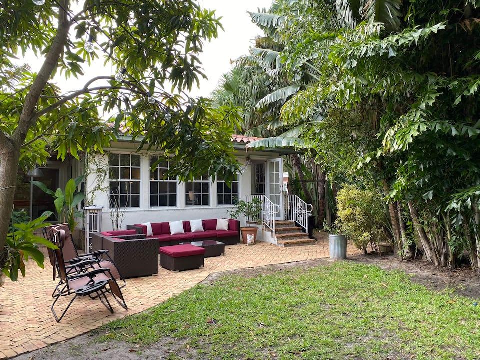 Entire House in Miami Beach