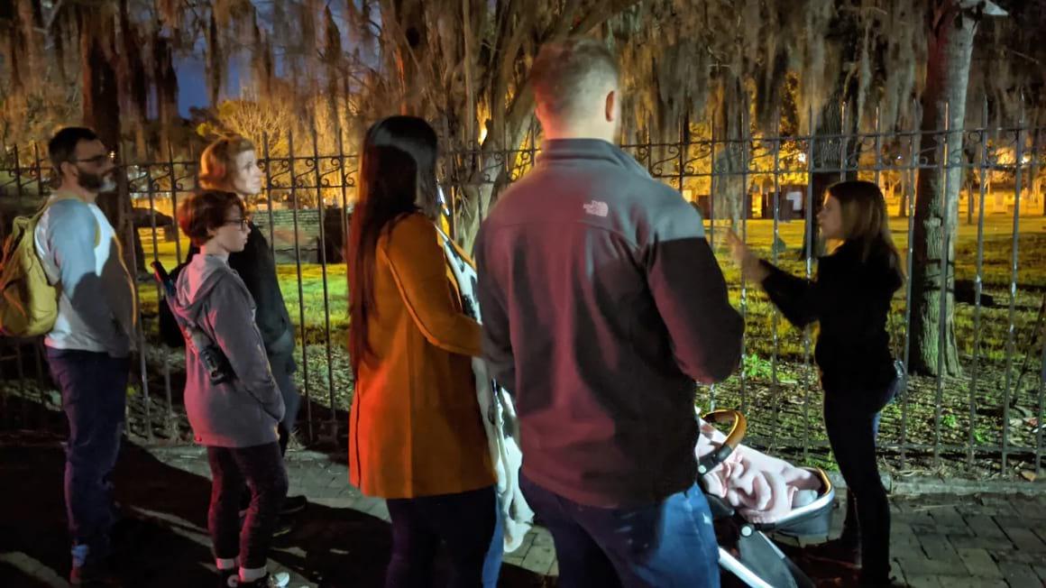 Fraidy Cat Haunted History and Ghost Walk, Savannah