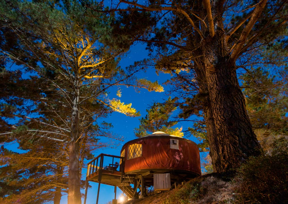 Glamping Sites in California
