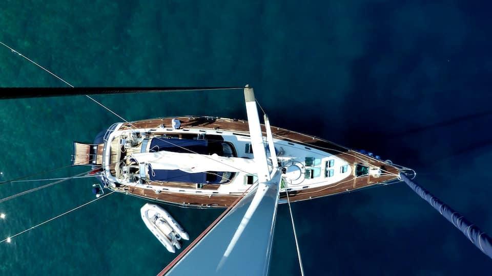 Luxury Dalmatian Coast Sailing Yacht Hvar