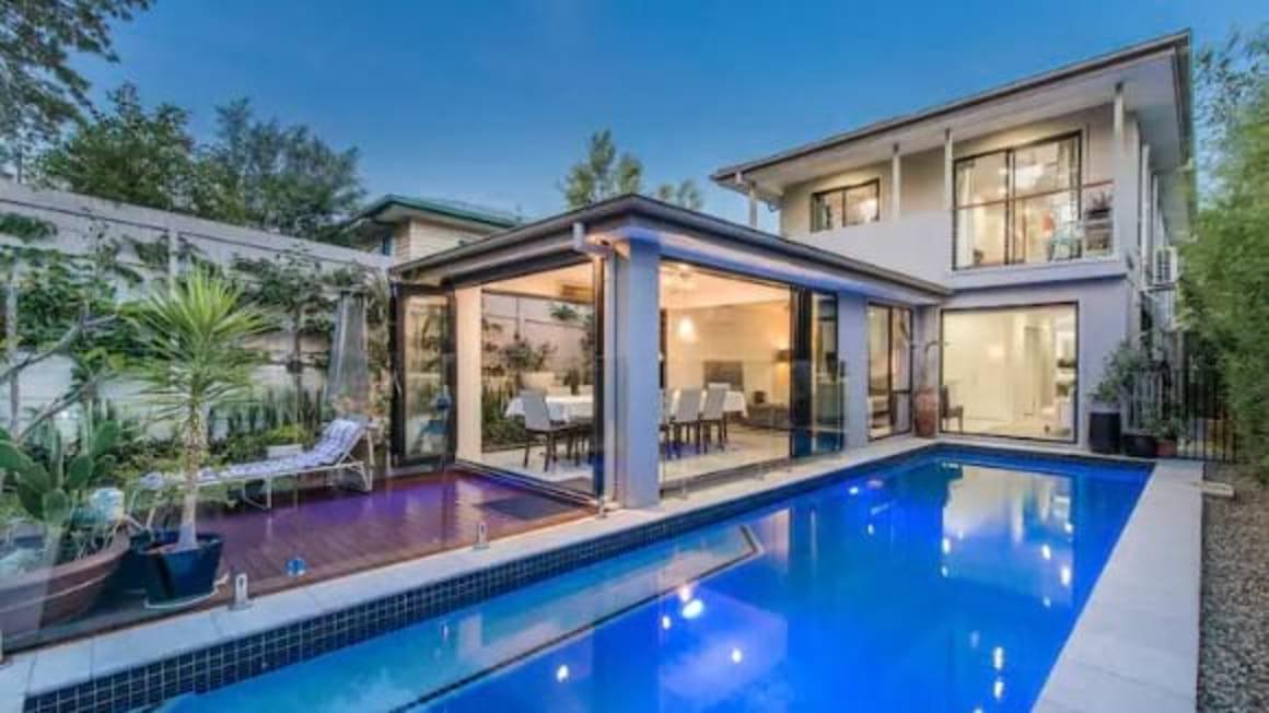 Modern House with Heated Pool