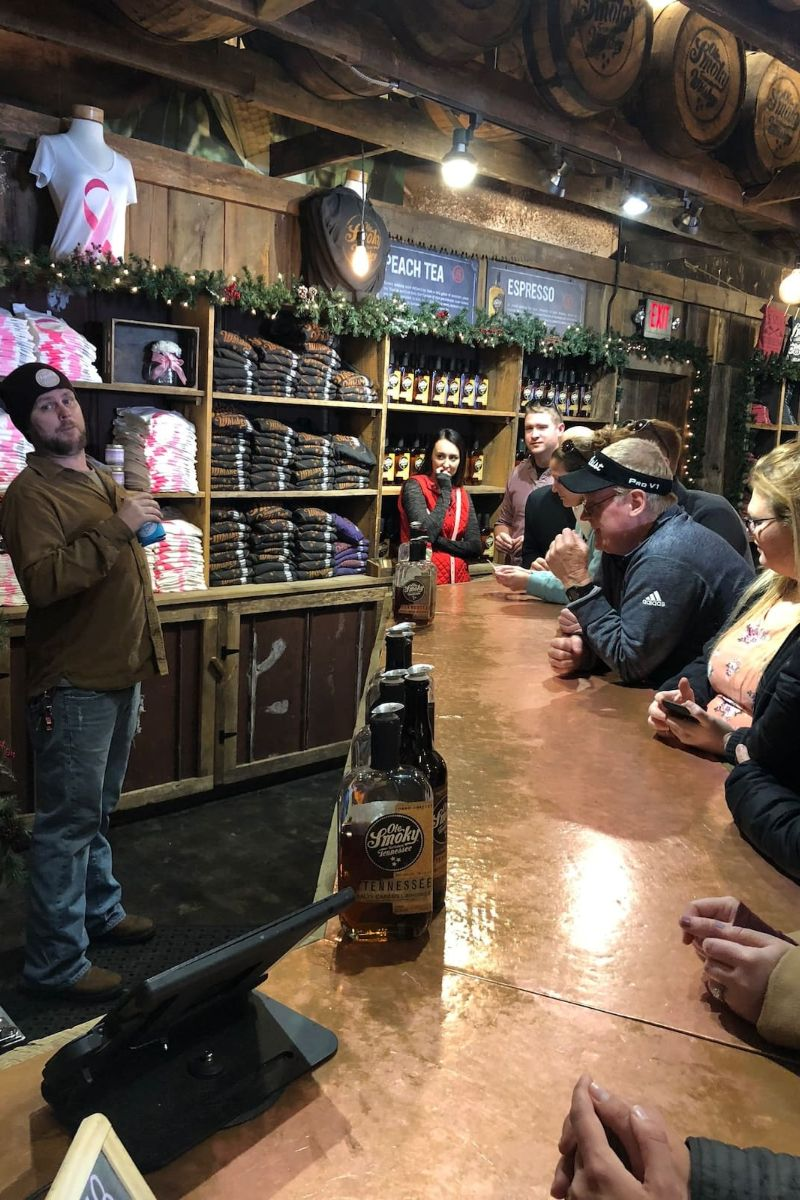 Moonshine Whiskey Walking Tour Pigeon Forge