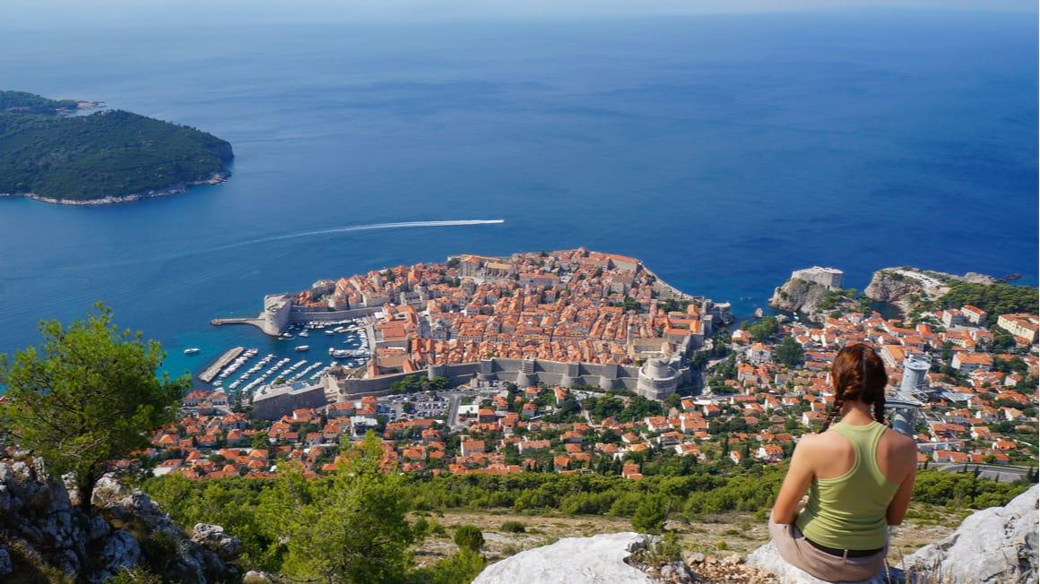 Mount Srd Trail Best Hike near Dubrovnik