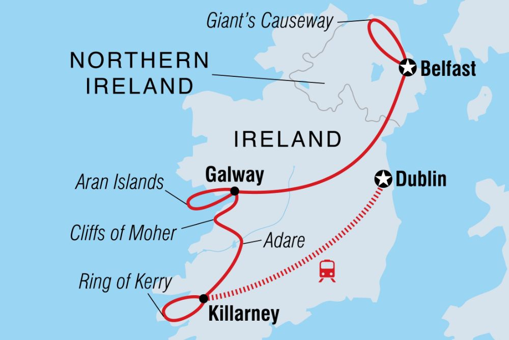 Northern and Southern Ireland Holidays