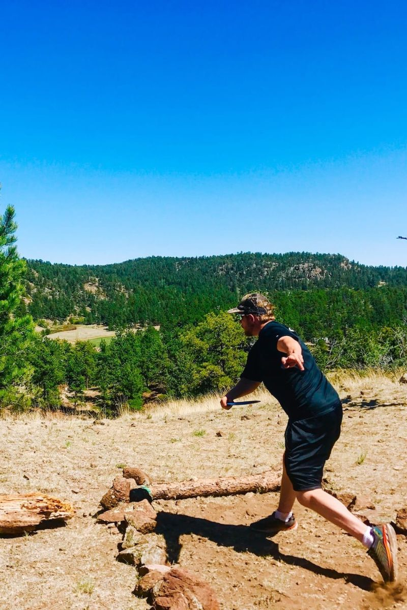 Play a Private Mountain Disc Golf Course Colorado Springs