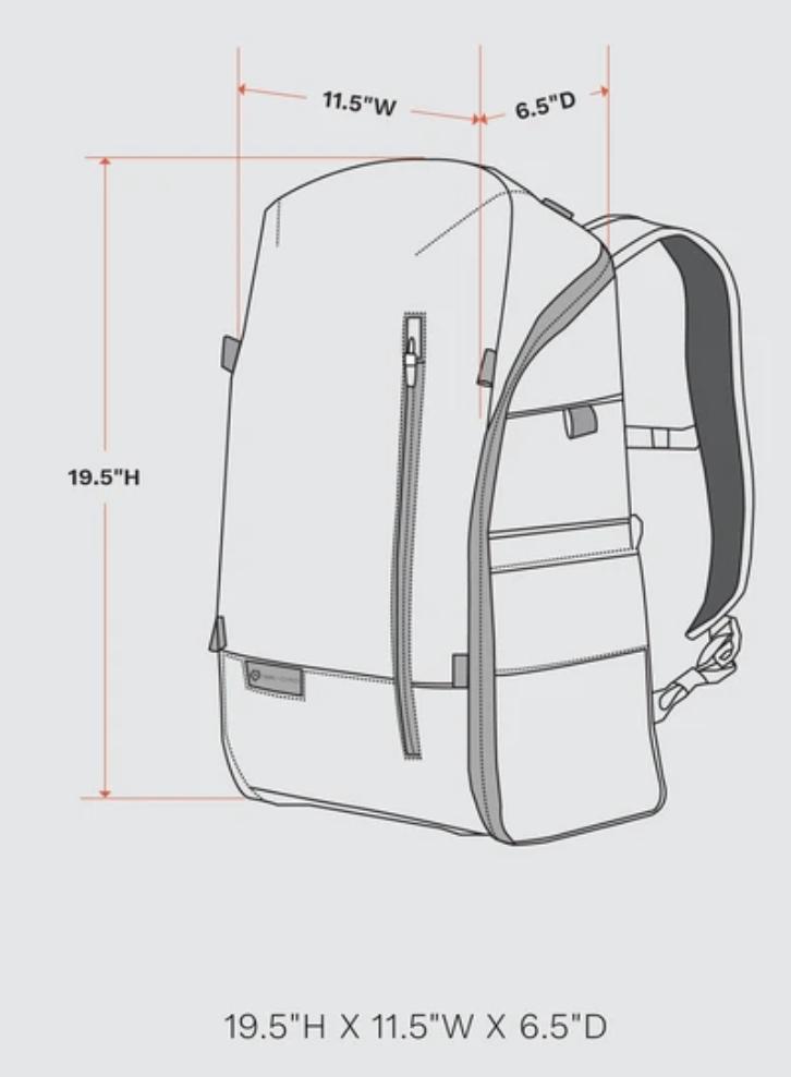 Wandrd backpacks