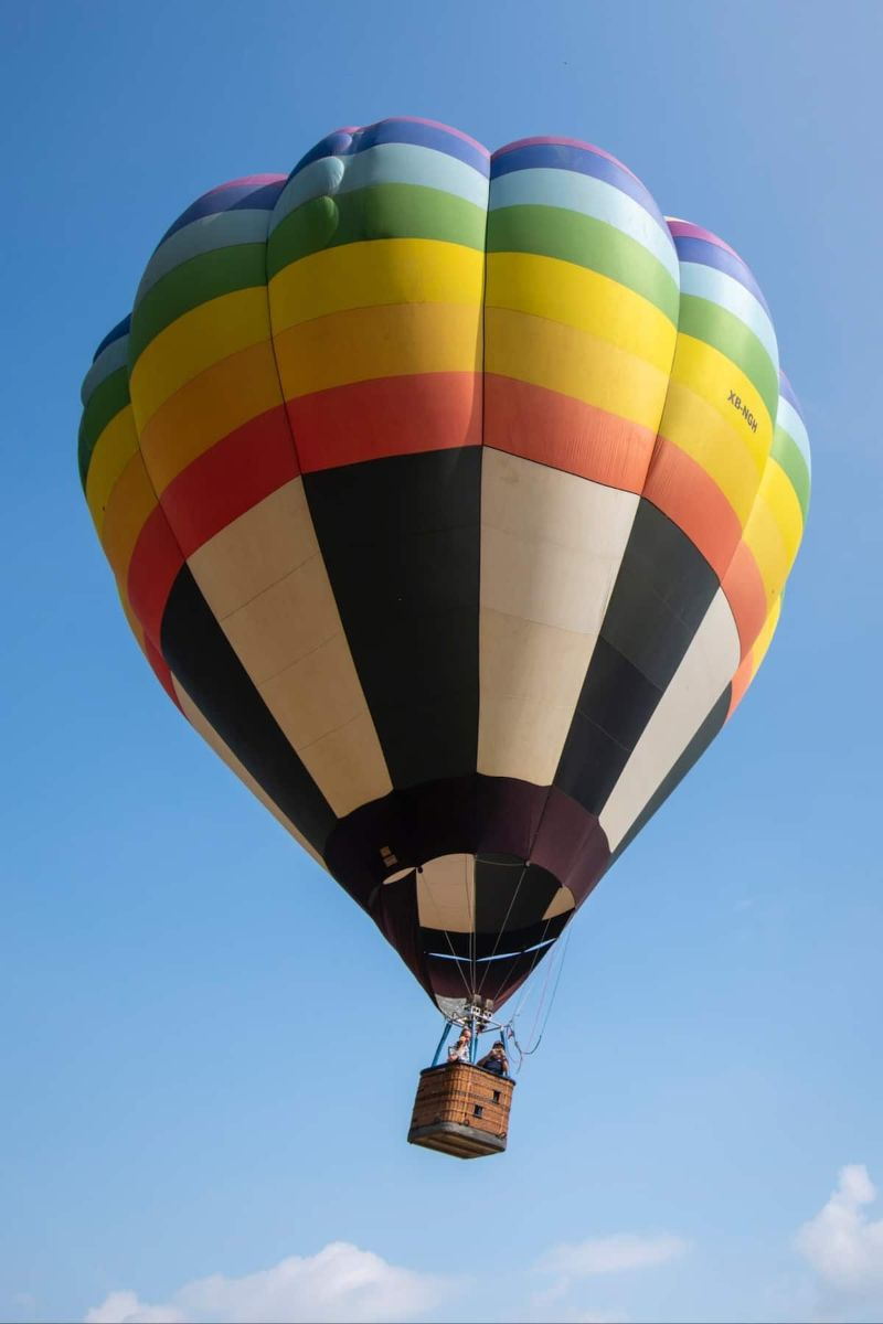 See Sunrise from a Hot Air Balloon Monterrey