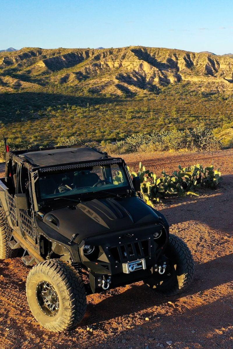 Sunset Desert Jeep Tour Scottsdale