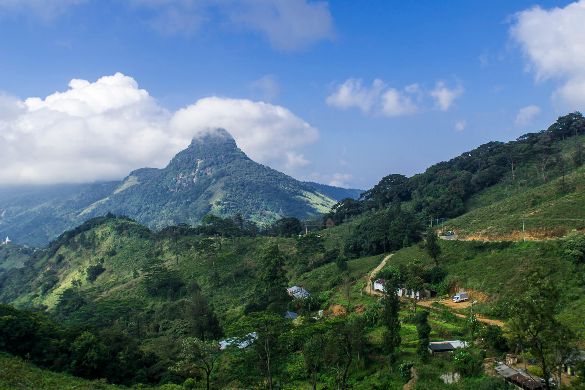 Knuckles Mountain Range and villages - unique places to visit in Sri Lanka