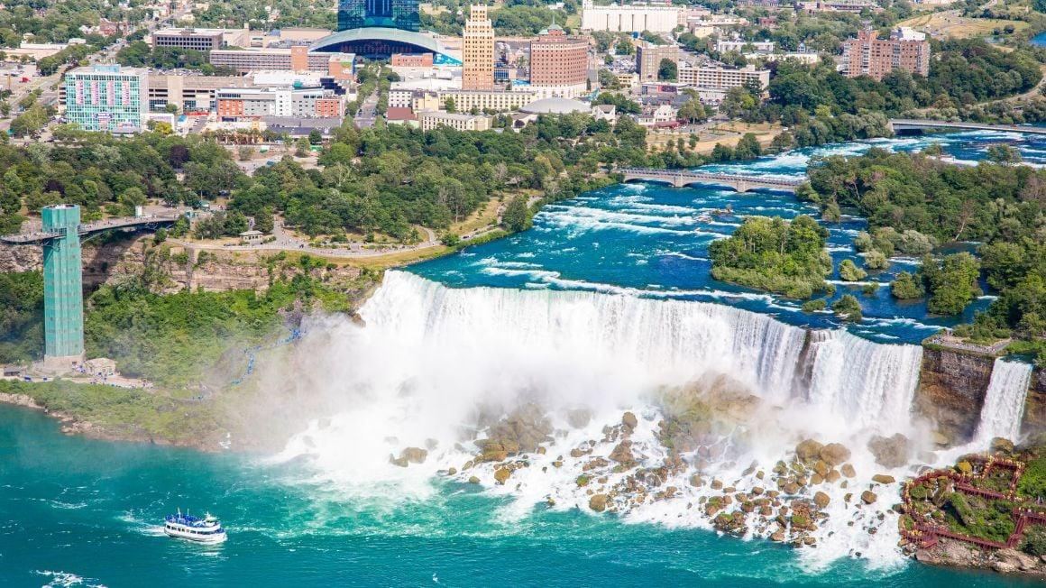 Buffalo to Niagara Falls New York