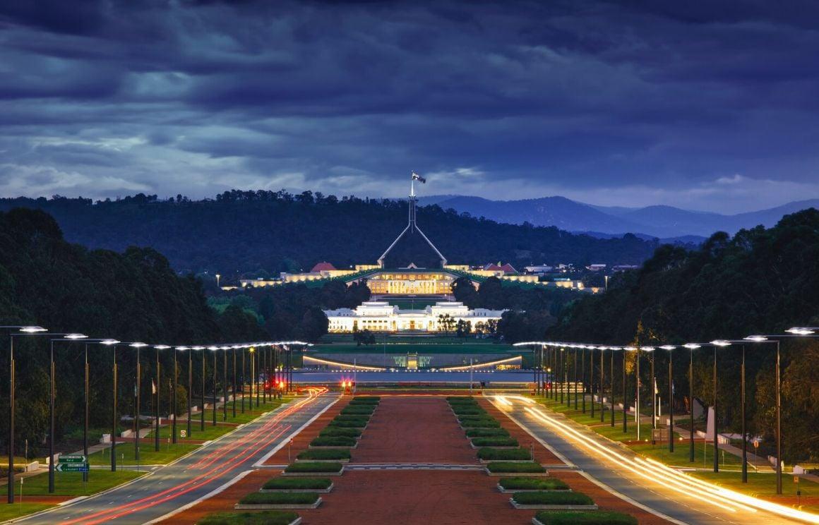 Canberra Sydney to Melbourne