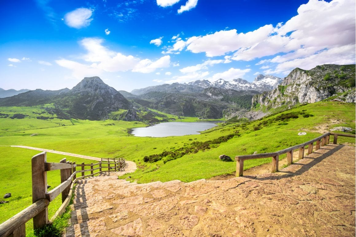 Covadonga Lakes Trail Spain