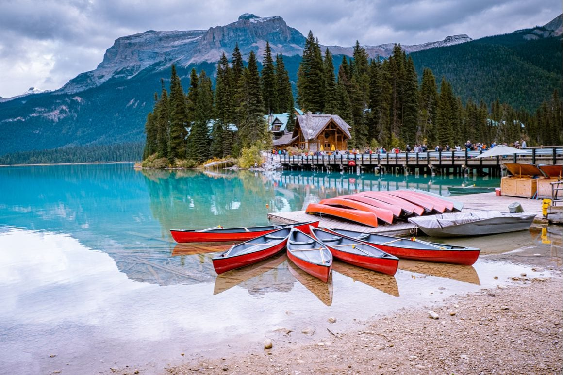 Field Lake Louise Canada