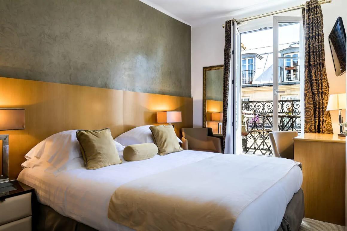 Room with Balcony in Montmartre, Paris
