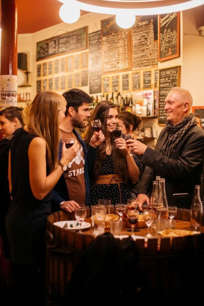 Visit the Authentic Wine Bars of Paris, Paris