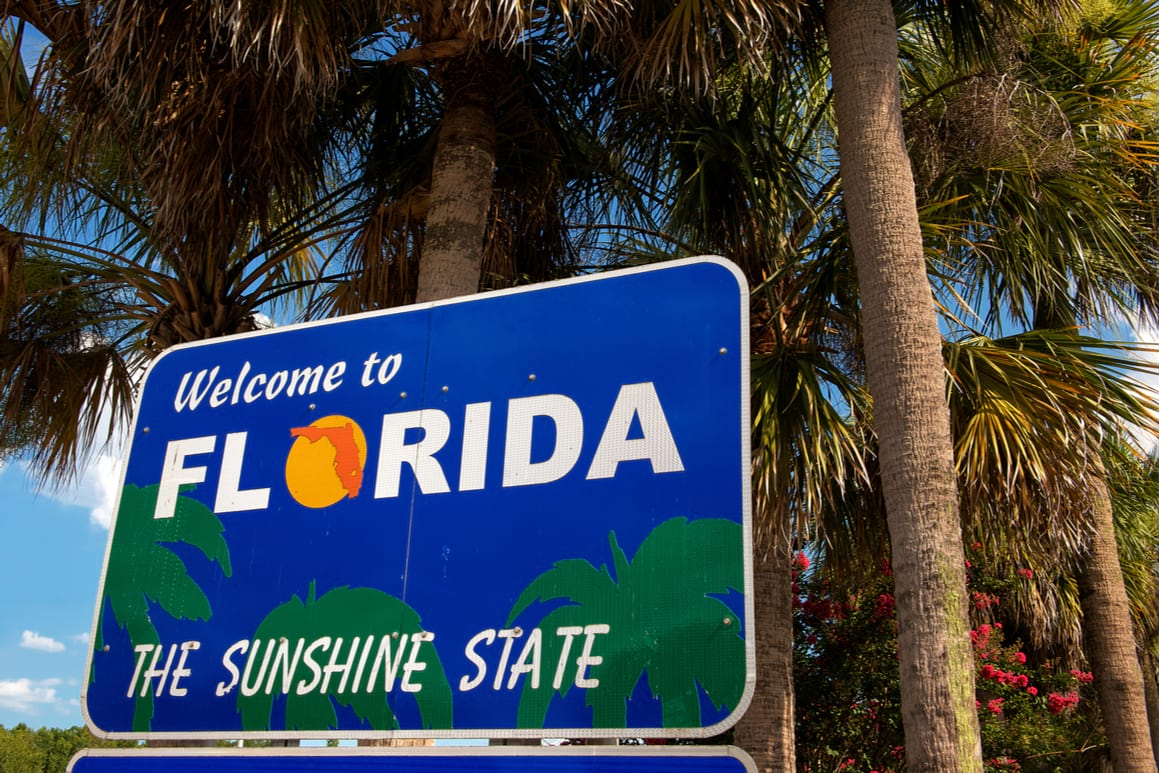Top Places to Go With an RV Near Florida