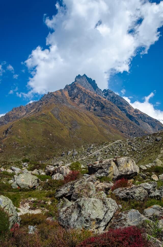 Views from the Langtang Trek in Nepal