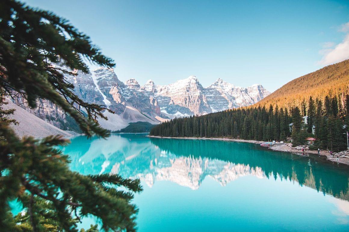 Banff River Canada