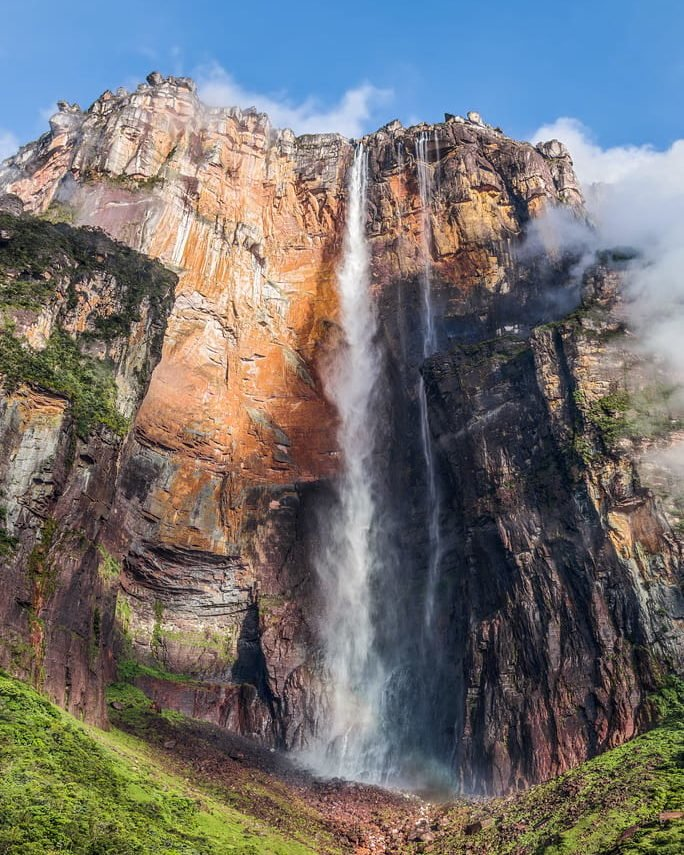 angels falls and roraima