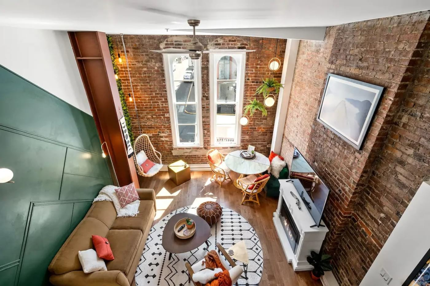 Most romantic Airbnb for couples – Boho-Chic Character Loft