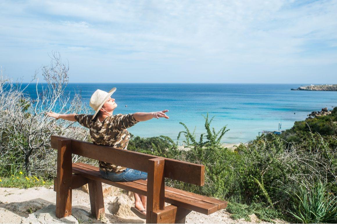 Cape Greco National Forest Park Profitis Elias to Konnos Nature Trail Cyprus