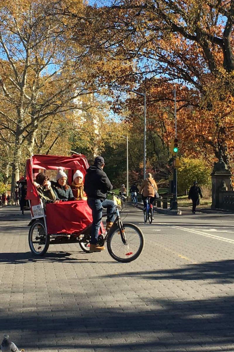 Central Park Tricycle Tour Manhattan