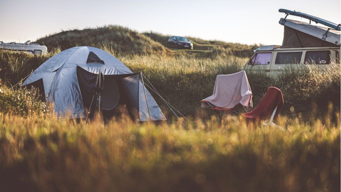 Denmark camping