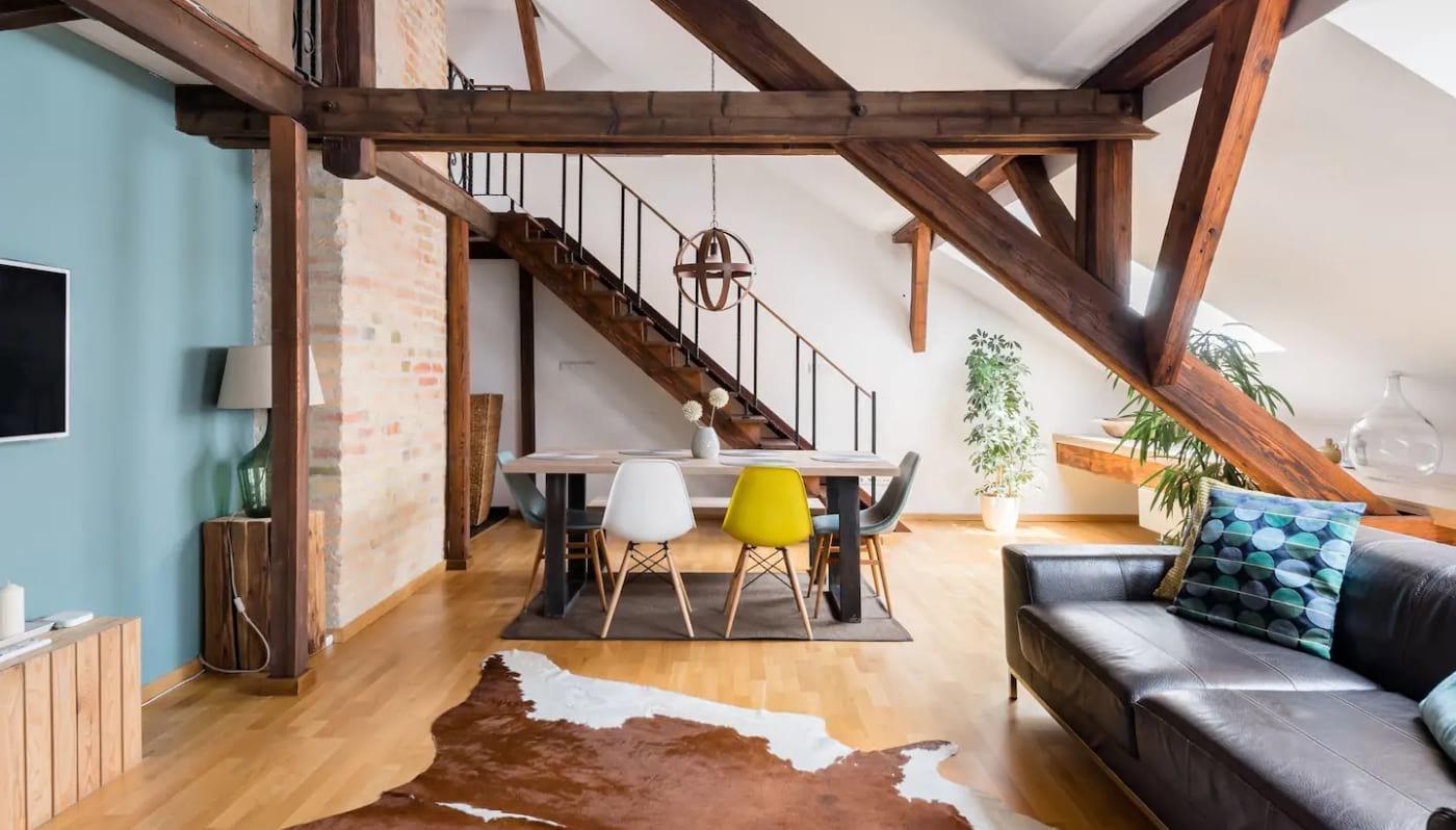 Designers Loft in a Period Building Budapest