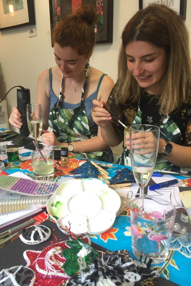 Fun Nipple Tassel Workshop in Brighton