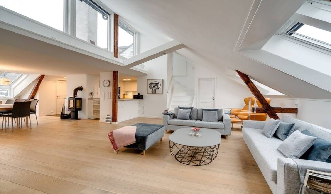 Lovely Penthouse in heart of Oslo Norway