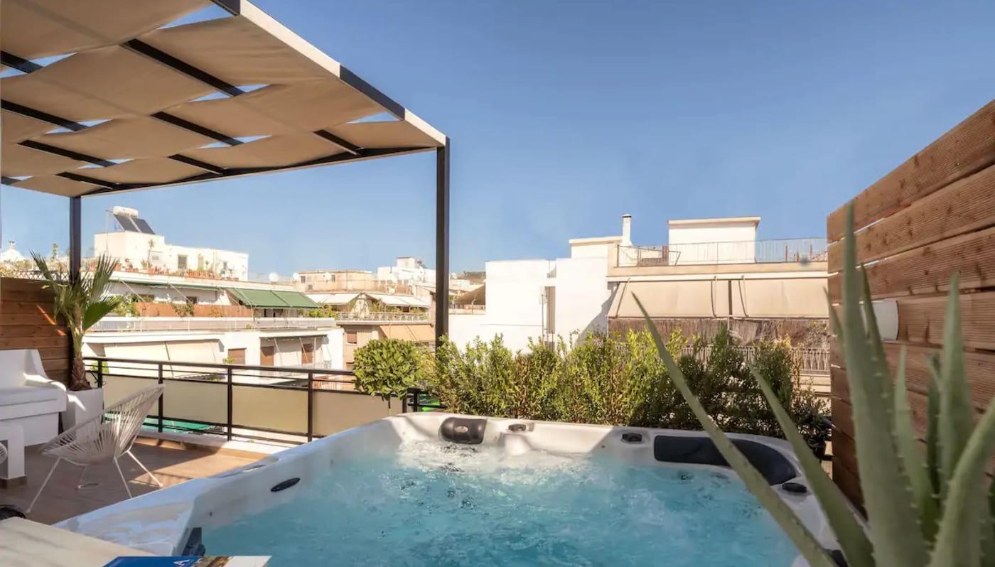 Luxury Penthouse with Jacuzzi Athens