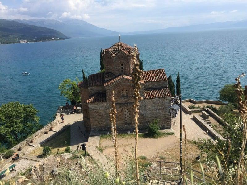 Lake Ohrid in Macedonia. By Freeborn Aiden.