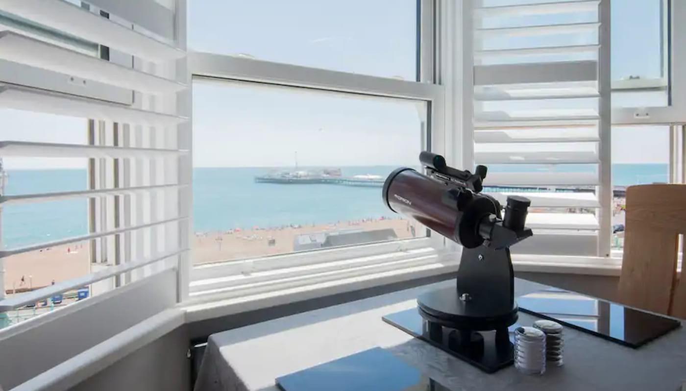 Panoramic Sea Views by Brighton Pier Brighton