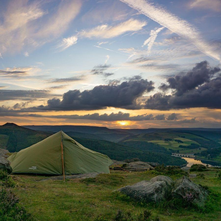 Peak Diatrict camping