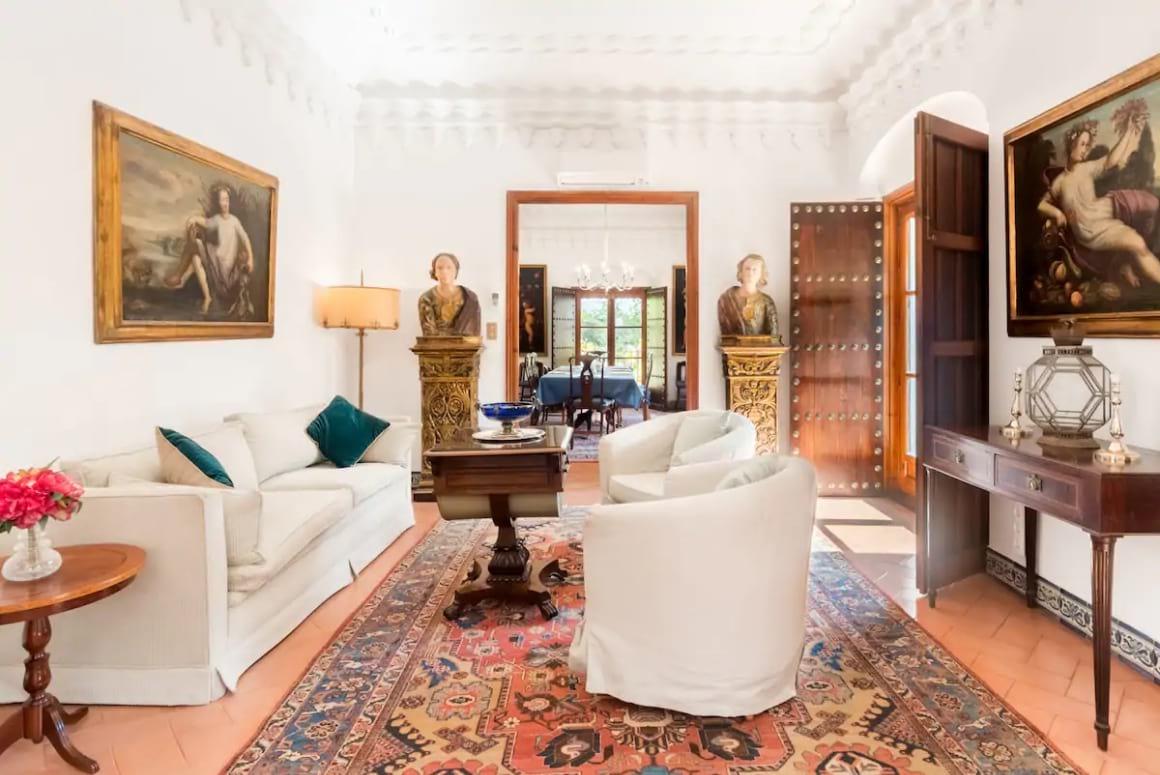 Palatial Apartment Filled with Art, Sevilla