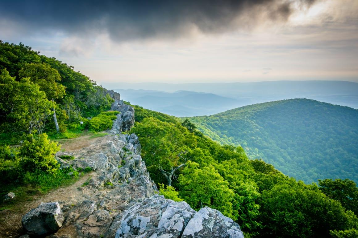 Hawksbill Mountain Summit, Shenandoah