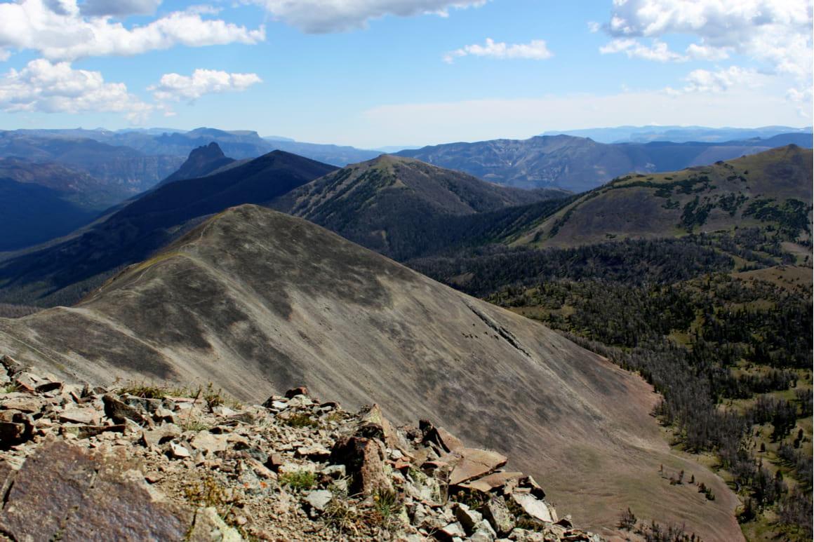 Avalanche Peak Trail, Yellowstone