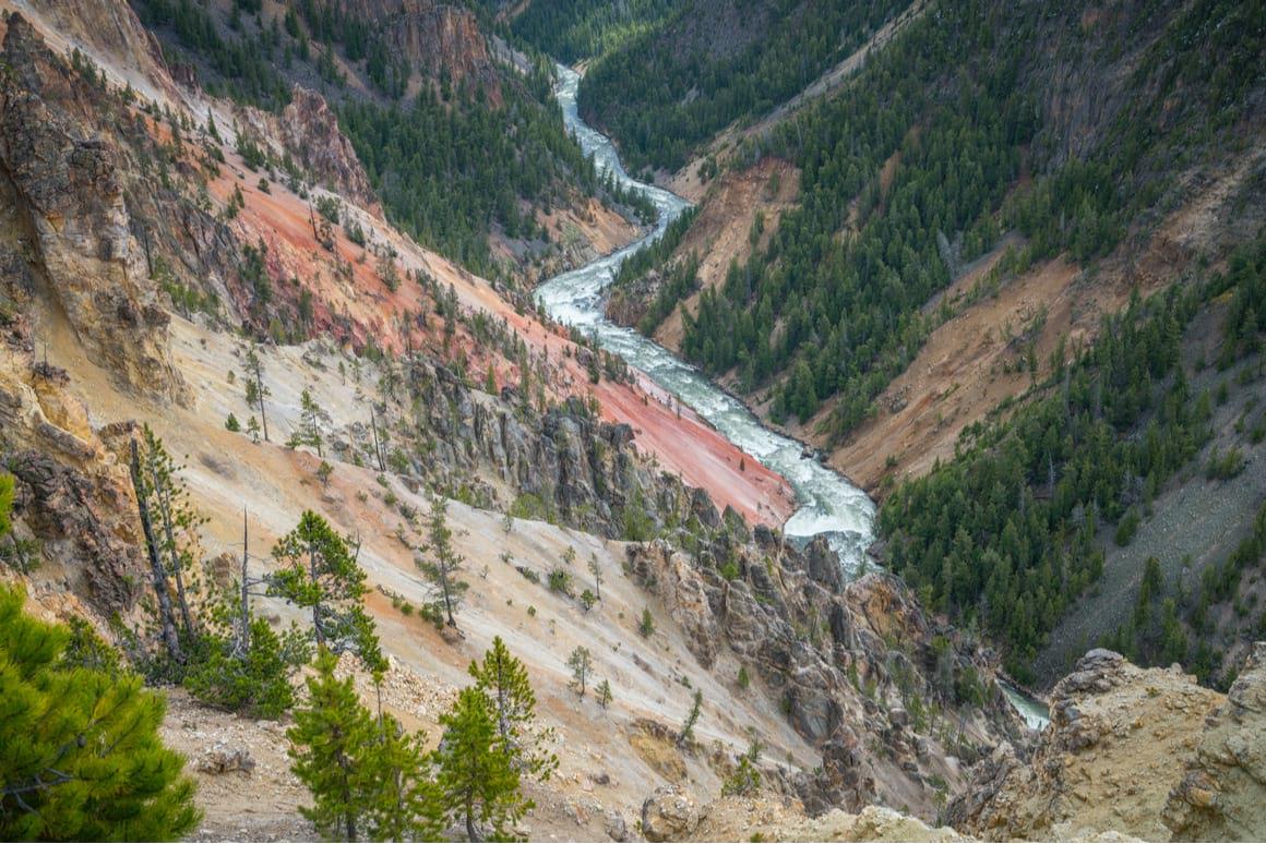 Canyon Rim North Trail, Yellowstone