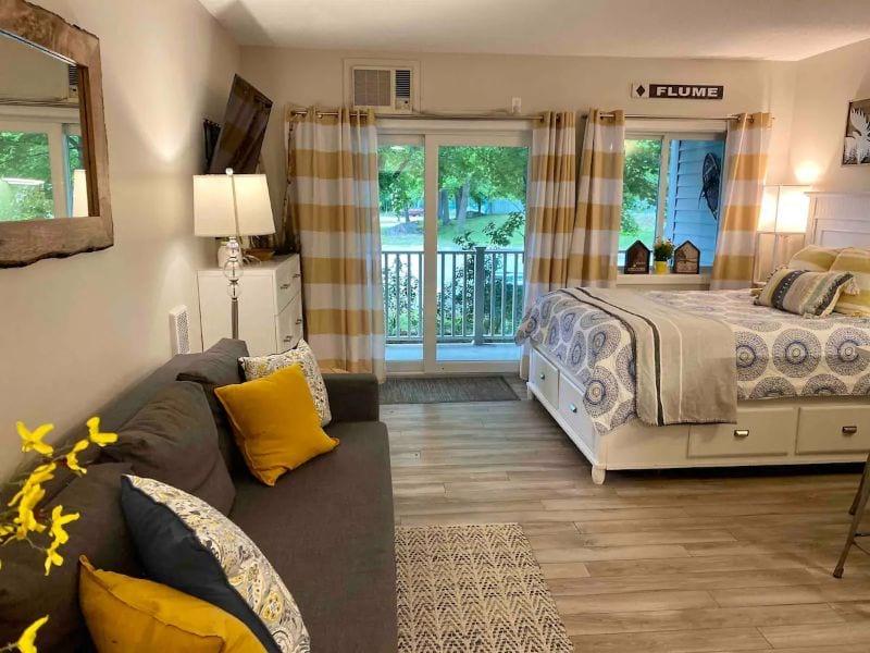 Stylish Studio Apartment White Mountains