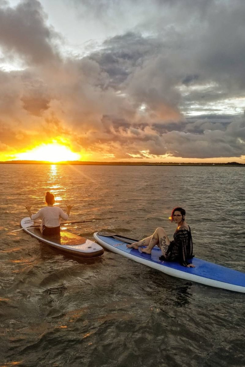 Sunset Dolphin Paddleboard Tour