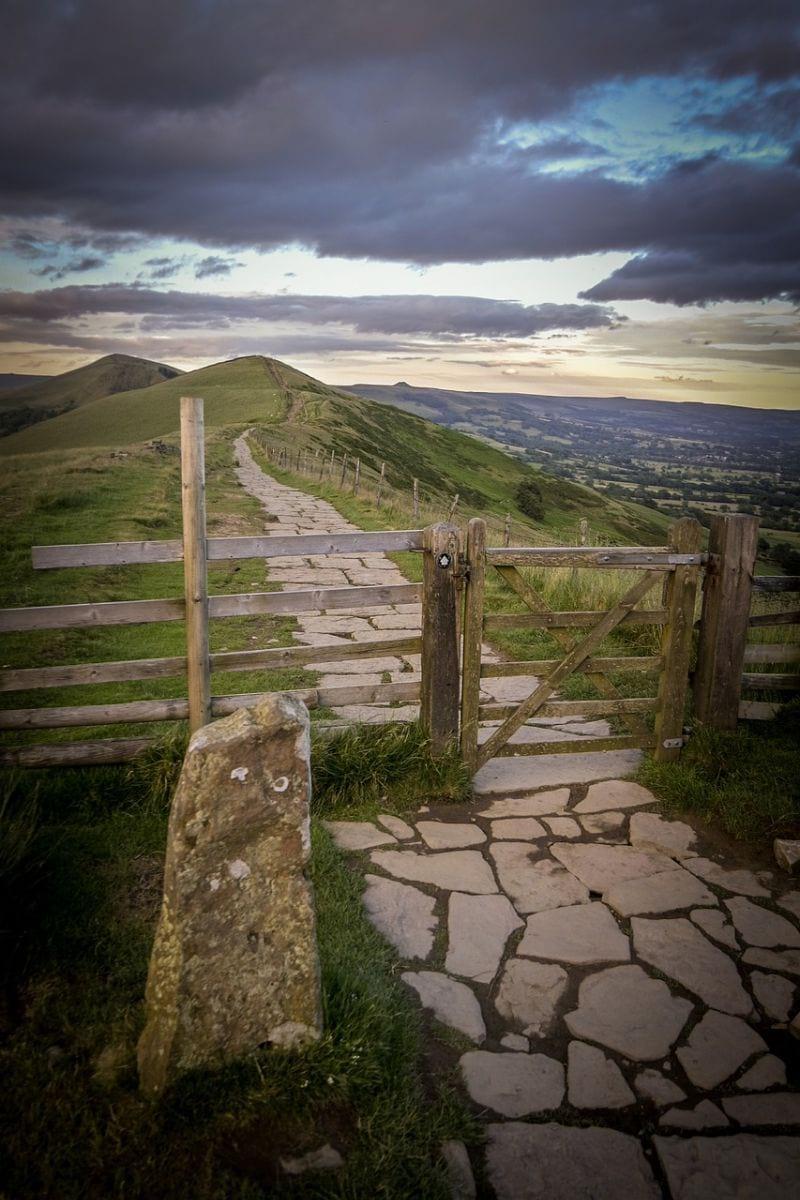 The Great Ridge Walking Route Peak District
