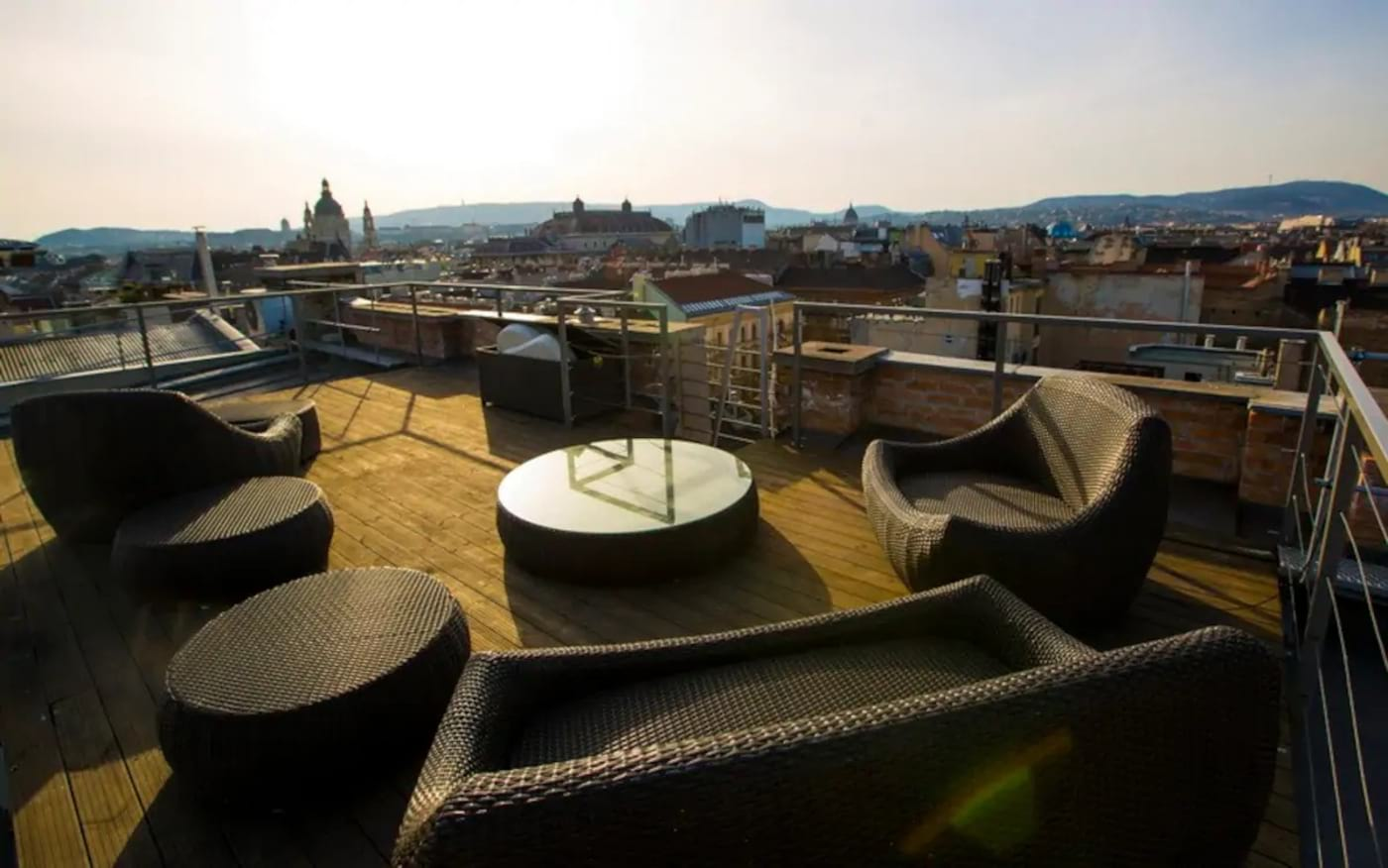 Top Loft with Two Panoramic Terraces