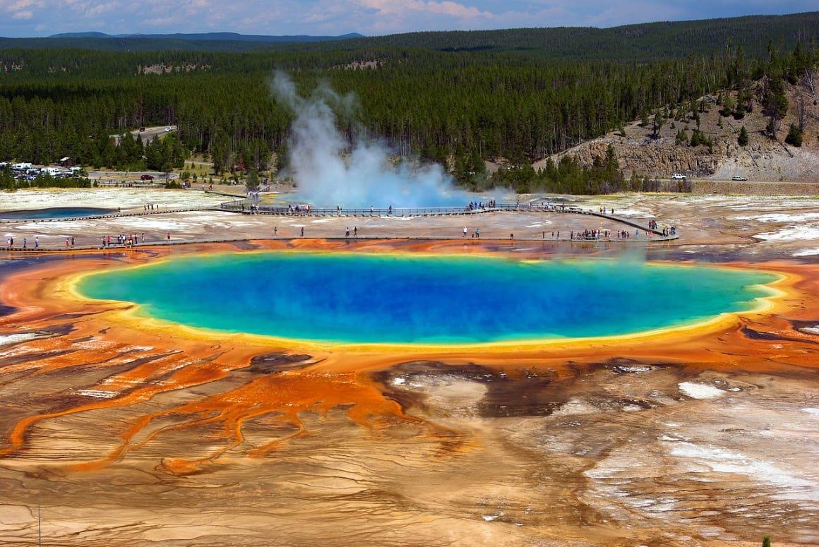 Grand Prismatic Hot Spring Loop