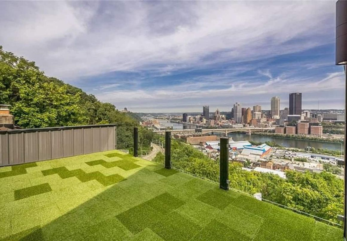 Cliffside Contemporary with Amazing Views, Pittsburgh