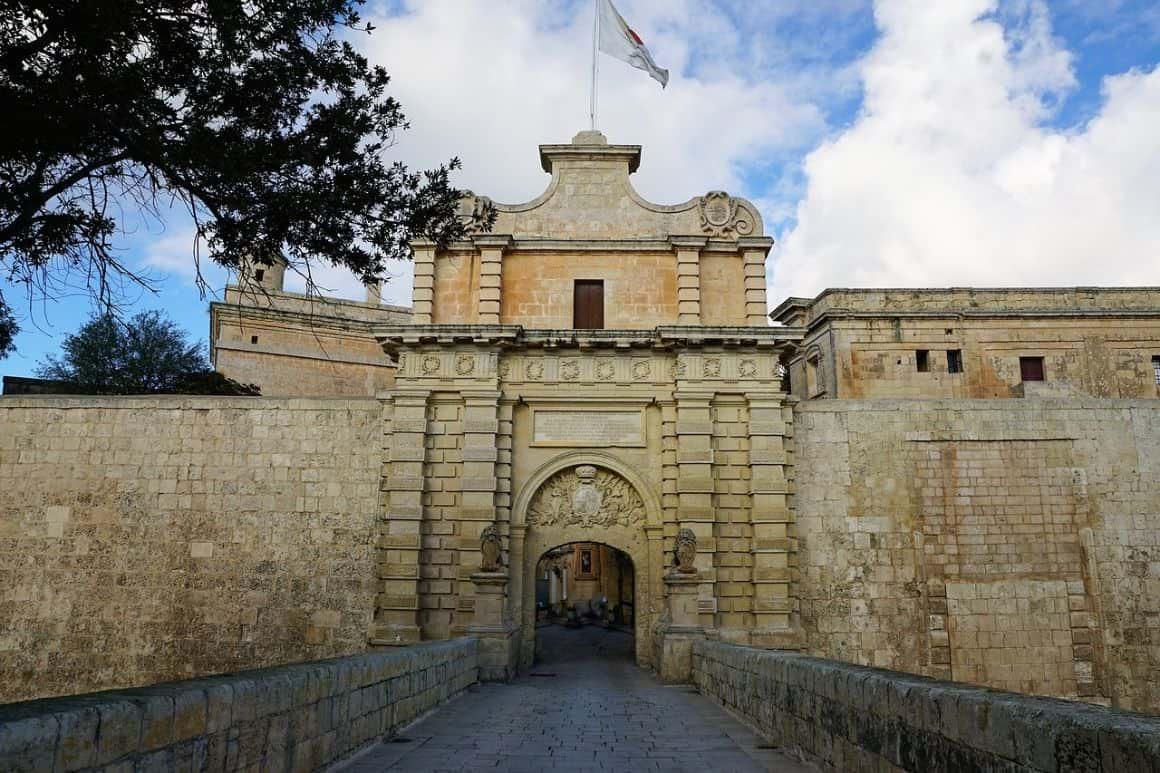 Mdina City Wall, Malta