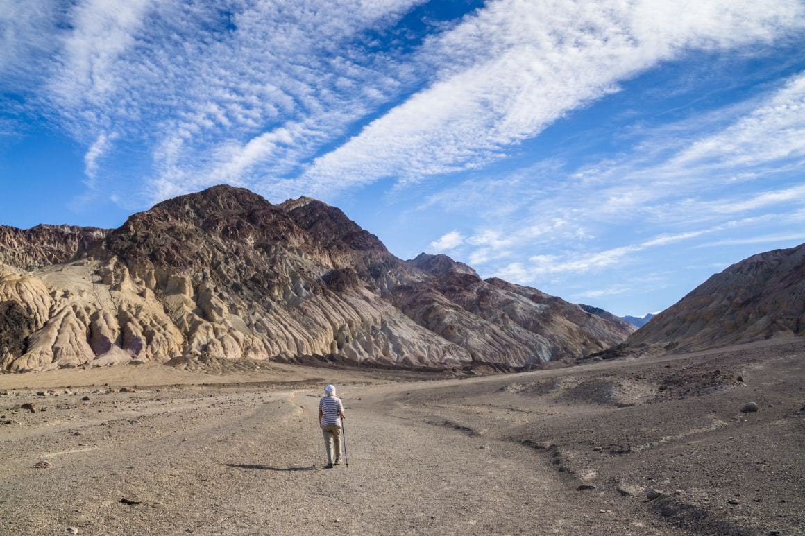 Desolation Canyon Trail - Most Beautiful Hike in Death Valley National Park