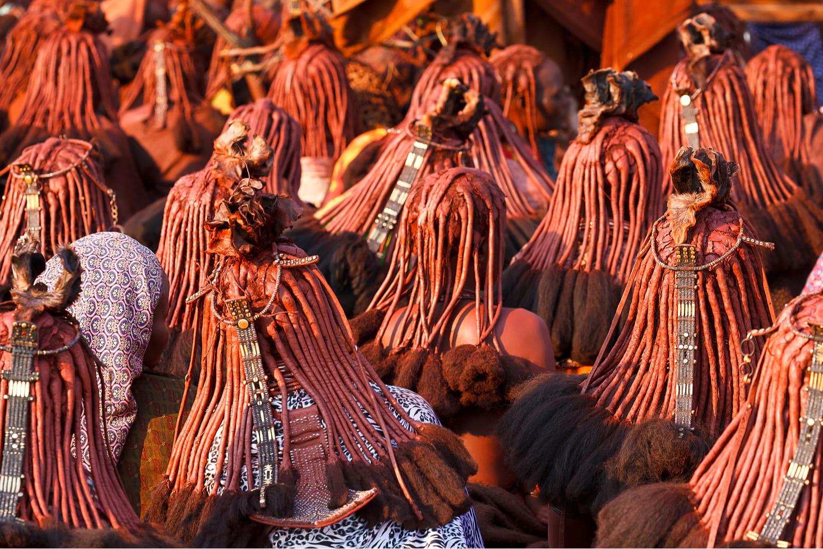 himba women in namibia