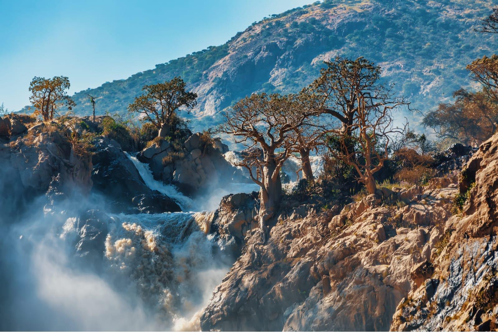 epupa falls backpacking namibia